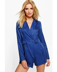 Boohoo Isabel Blazer Tailored Woven Playsuit