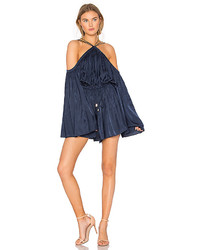 Winona Australia Astrid Playsuit In Navy