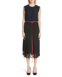 Marc Jacobs Bicolor Silk Dress