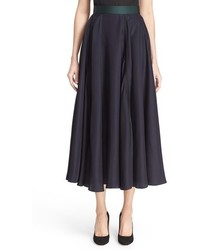 Ashford silk blend midi skirt medium 565767