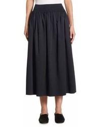 The Row Betsy Pleated Midi Skirt