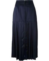 Fendi High Waist Midi Skirt
