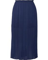 Rebecca Minkoff Steele Pleated Chiffon Skirt