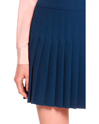 DKNY Pleated Skirt With Side Zipper | Where to buy & how to wear