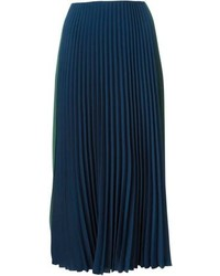 Cedric charlier cedric charlier pleated midi skirt medium 98363