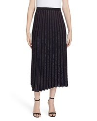 DVF Klara Pleat Midi Skirt