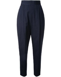 Enfold Enfld Pleated Tapered Trousers