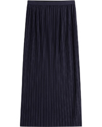 Theory Pleated Long Skirt