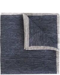 Eleventy Denim Effect Handkerchief