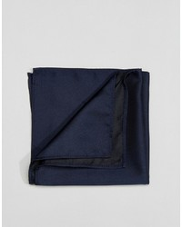 Asos Pocket Square In Navy