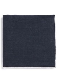 BOSS Solid Linen Pocket Square
