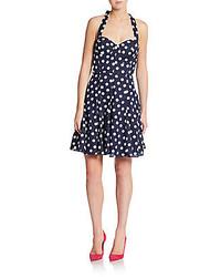 Polka dot a line dress medium 262689