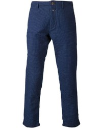 Navy Polka Dot Chinos
