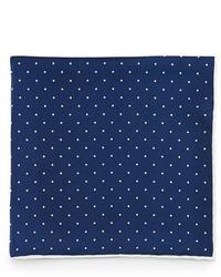 Dot print pocket square navywhite medium 31832