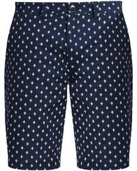 Slim leg polka dot cotton shorts medium 3709087