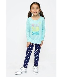 Toddler Girls Truly Me Polka Dot Leggings
