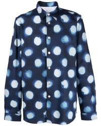 PS Paul Smith Abstract Dot Print Shirt