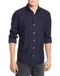 Culturata Coupe Dot Tailored Fit Sport Shirt