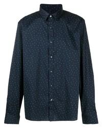 Michael Kors Michl Kors Micro Polka Dot Print Shirt