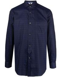 Junya Watanabe MAN Polka Dot Cotton Shirt