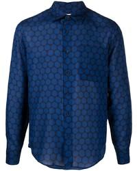 Sandro Paris Polka Dot Print Shirt