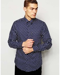 Ben Sherman Shirt With Polka Dot Print