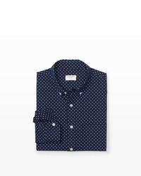 Club Monaco Slim Fit Polka Dot Shirt