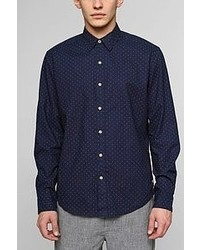 Urban Outfitters Your Neighbors Billie Polka Dot Shirt