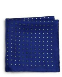 Saks Fifth Avenue Collection Polka Dot Print Pocket Square
