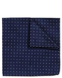 Charles Tyrwhitt Navy Textured Spot Pocket Square