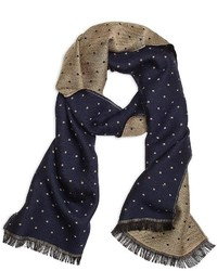 Brooks brothers mini polka dot scarf medium 372737