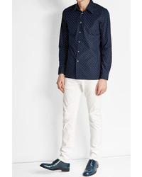 Jil Sander Dotted Cotton Shirt