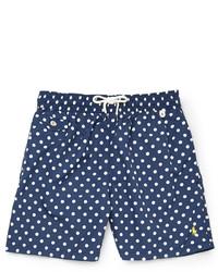 dabf9406b5 Men's Navy Polka Dot Shorts by Polo Ralph Lauren | Men's Fashion ...