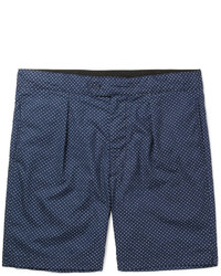 Engineered Garments Sunset Slim Fit Polka Dot Cotton Poplin Shorts