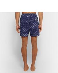 e070406be4 Polo Ralph Lauren Traveler Mid Length Polka Dot Swim Shorts, $80 ...