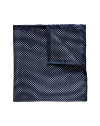 Eton Dot Silk Pocket Square