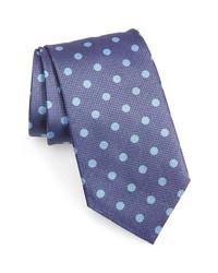 David Donahue Dot Silk Tie