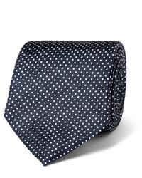 Drakes Drakes 8cm Polka Dot Silk Twill Tie