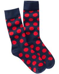 Happy Socks Big Dots Crew Socks
