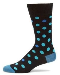 Dot patterned woven socks medium 821520