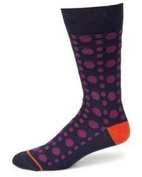 Dotted woven socks medium 796775