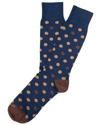 Etiquette Clothiers Etiquette Polka Dot Socks