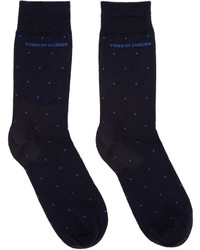 Navy abbond socks medium 615841