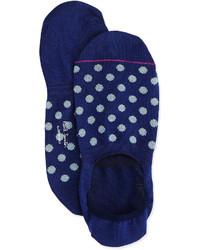 Paul Smith Polka Dot Loafer Socks Navy