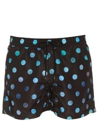 Paul Smith Faded Dot Print Swim Shorts