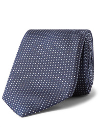 Hugo Boss 75cm Pin Dot Silk Tie