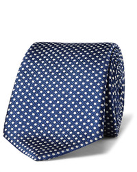 8cm polka dot silk jacquard tie medium 3942116