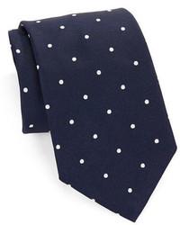 Brooks Brothers Classic Polka Dot Silk Tie