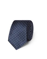 Lanvin Polka Dot Silk Tie