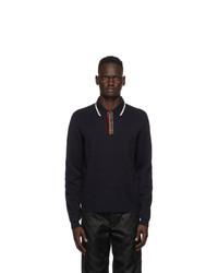 Gucci Blue Knit Polo